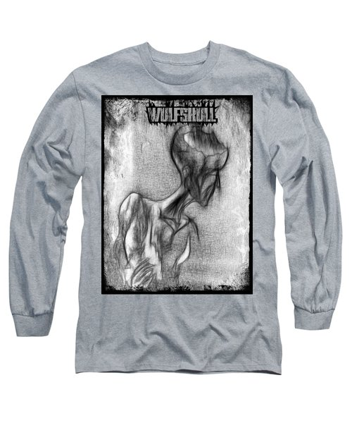 Wulfskull#3 Long Sleeve T-Shirt