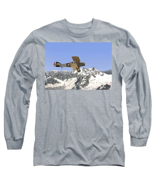 Long Sleeve T-Shirt featuring the photograph Ww1 - Bristol Fighter by Pat Speirs