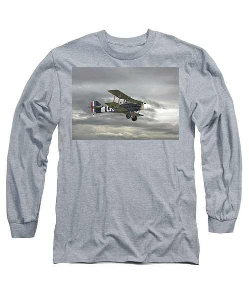 Long Sleeve T-Shirt featuring the digital art Ww1 - Icon Se5 by Pat Speirs