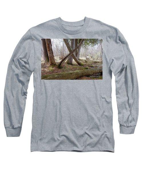 X Marks The Spot Long Sleeve T-Shirt by Sandra Updyke