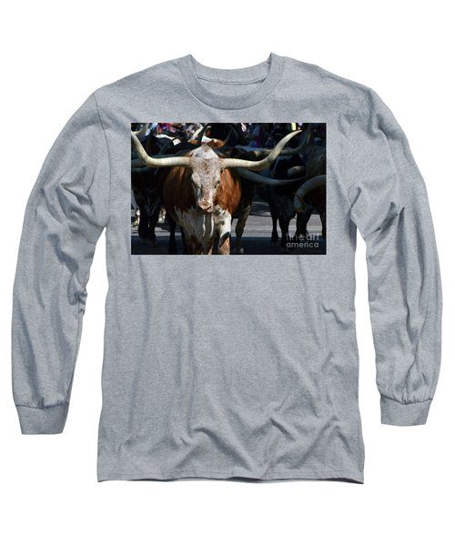 Long Sleeve T-Shirt featuring the photograph Ya'all Be Careful Now..... by Debby Pueschel