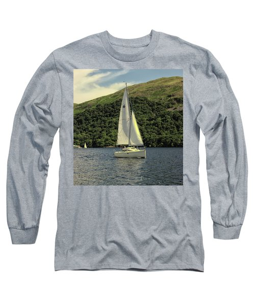 Yachting On The Lakes Long Sleeve T-Shirt