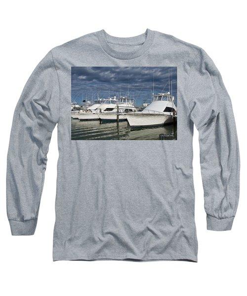 Yachts At The Dock Long Sleeve T-Shirt