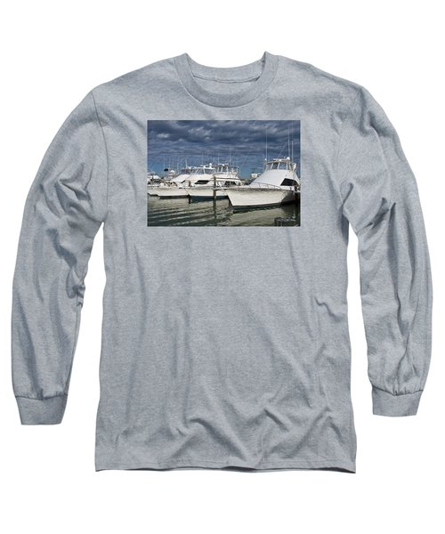 Yachts At The Dock Long Sleeve T-Shirt