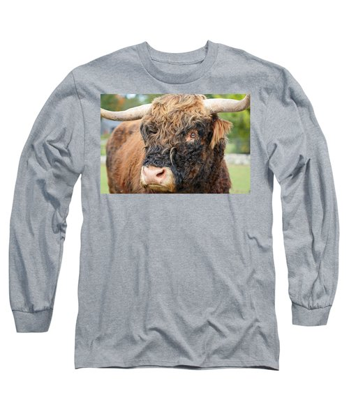 Yakity Yak Long Sleeve T-Shirt by Karol Livote