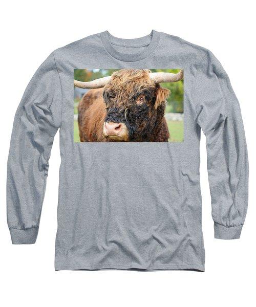 Yakity Yak Long Sleeve T-Shirt by Karol Livote