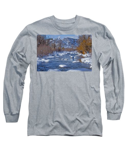 Yampa River Long Sleeve T-Shirt by Sean Allen