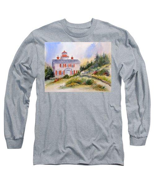 Yaquina Bay Light Long Sleeve T-Shirt