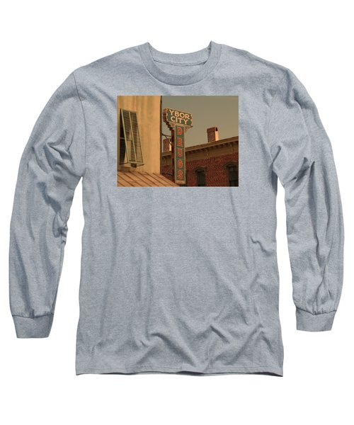 Ybor City Drugs Long Sleeve T-Shirt by Robert Youmans