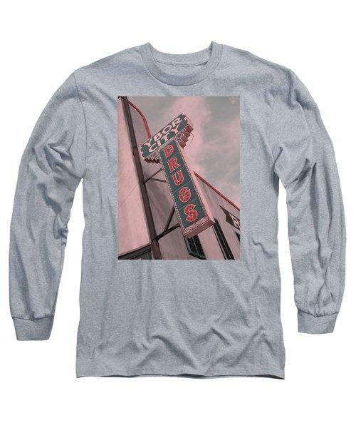 Ybor City Drug Long Sleeve T-Shirt