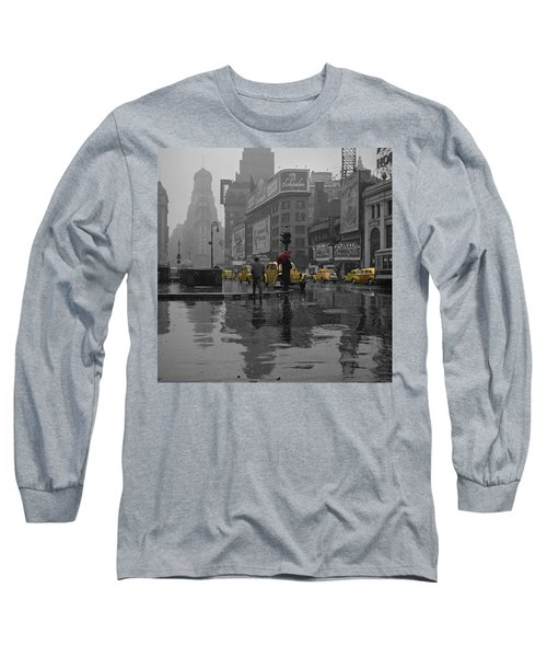 Yellow Cabs New York Long Sleeve T-Shirt