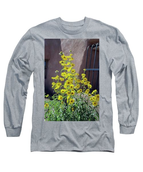Yellow Composites At Ghost Ranch  Long Sleeve T-Shirt