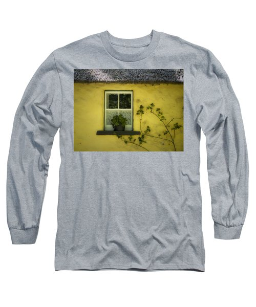 Yellow House County Clare Ireland Long Sleeve T-Shirt