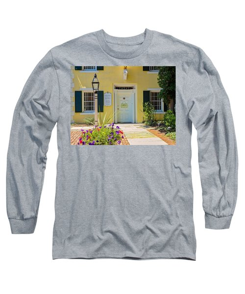 Yellow House In Kingston Long Sleeve T-Shirt
