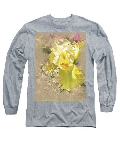 Yellow Iris Long Sleeve T-Shirt