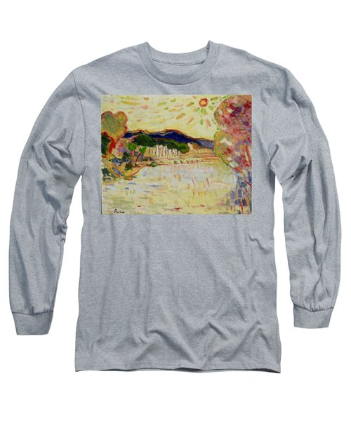 Beynac Et Cazenac , Dordogne , Yellow Sunshine  Long Sleeve T-Shirt