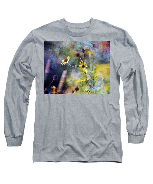 Yellow Wildflowers 3230 Idp_2 Long Sleeve T-Shirt