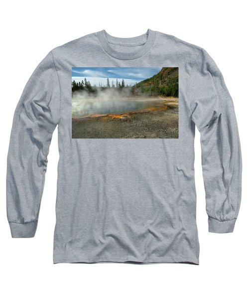 Long Sleeve T-Shirt featuring the photograph Yellowstone Colors #5 by Scott Read