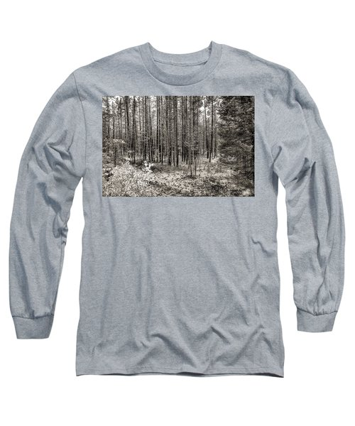 Yellowstone Fire Burn Scar Long Sleeve T-Shirt