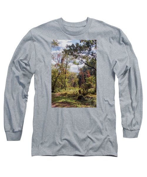 Long Sleeve T-Shirt featuring the photograph Yesterdays by John Rivera