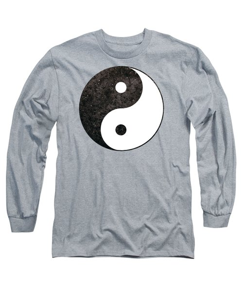 Yin Yang Symbol Long Sleeve T-Shirt