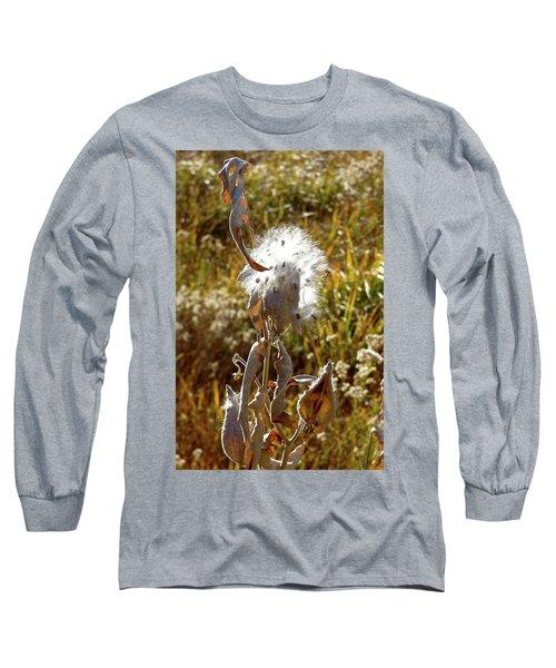 Yosemite Milkweed Long Sleeve T-Shirt by Amelia Racca