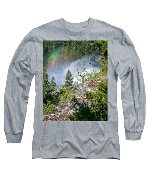 Stroll Passed Nevada Long Sleeve T-Shirt by Ryan Weddle