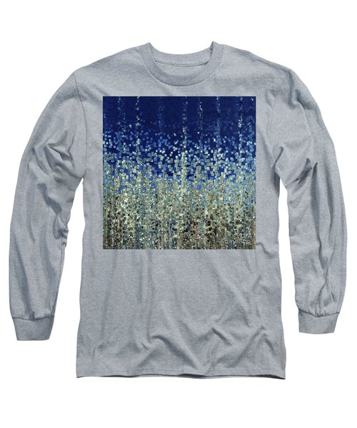 You Are Not Alone. Psalm 40 1-3 Long Sleeve T-Shirt by Mark Lawrence