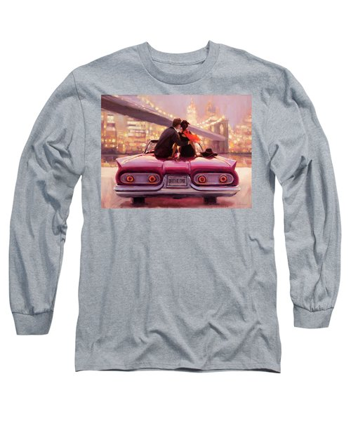 Long Sleeve T-Shirt featuring the painting You Are The One by Steve Henderson