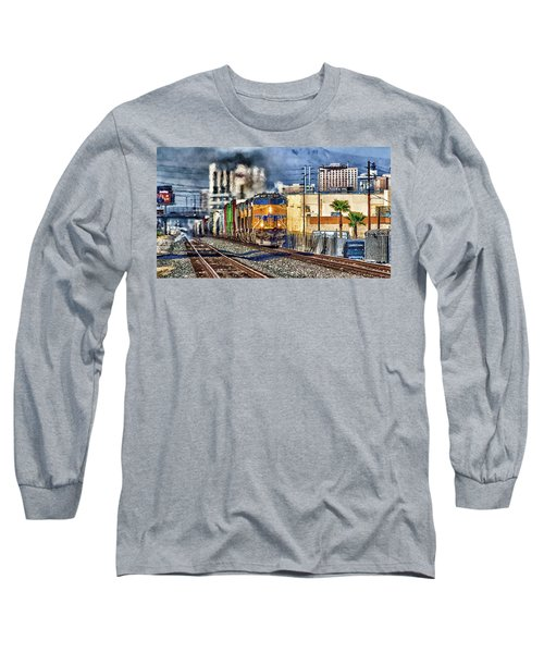 Long Sleeve T-Shirt featuring the photograph You Can Go Your Own Way by Michael Rogers