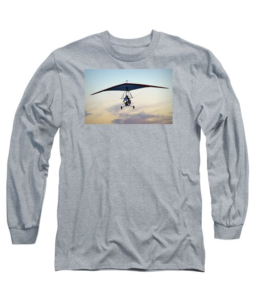 Long Sleeve T-Shirt featuring the photograph You Only Live Once by AJ  Schibig