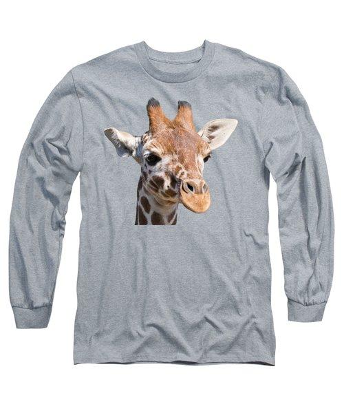 Young Giraffe  Long Sleeve T-Shirt