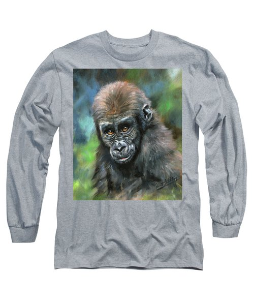 Young Gorilla Long Sleeve T-Shirt