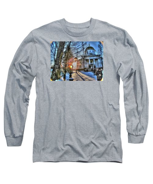 Yury Bashkin Churches, Russia Long Sleeve T-Shirt