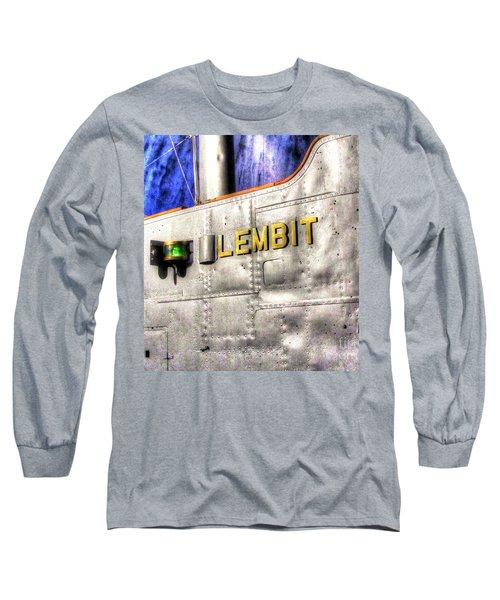 Long Sleeve T-Shirt featuring the pyrography Yury Bashkin Element  Tallin Museum by Yury Bashkin