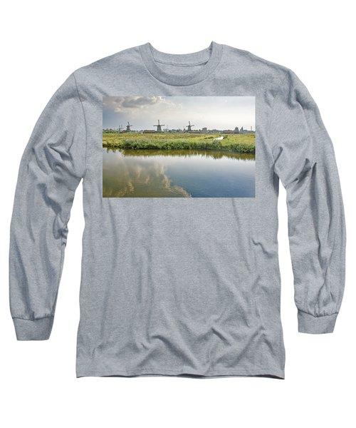Zaandam Skyline Long Sleeve T-Shirt