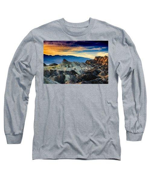 Zabriskie Point At Sundown Long Sleeve T-Shirt