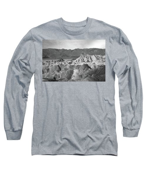 Zabriskie Point Landscape Long Sleeve T-Shirt