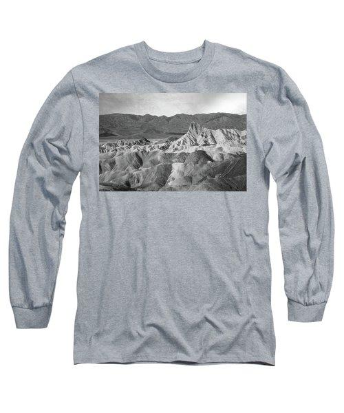 Zabriskie Point Landscape Long Sleeve T-Shirt
