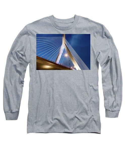Zakim Bridge Upclose Long Sleeve T-Shirt