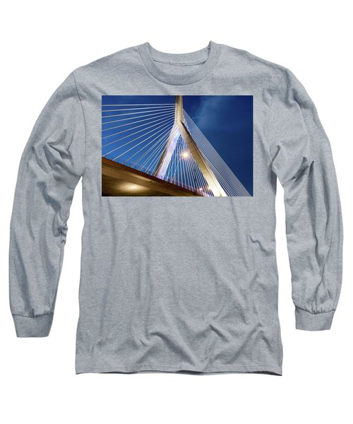 Zakim Bridge Upclose Long Sleeve T-Shirt