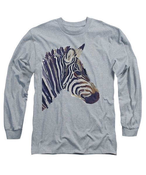 Zebra 2 Long Sleeve T-Shirt