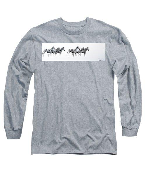 Zebrascape - Original Artwork Long Sleeve T-Shirt