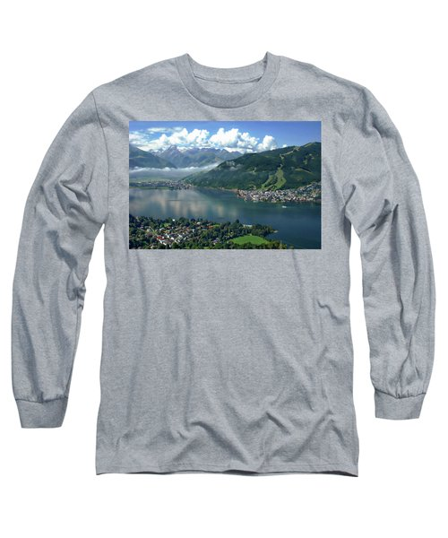 Zell Am See Panorama Long Sleeve T-Shirt