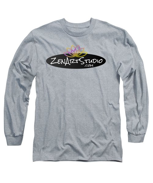 Zen Art Studio Logo Long Sleeve T-Shirt