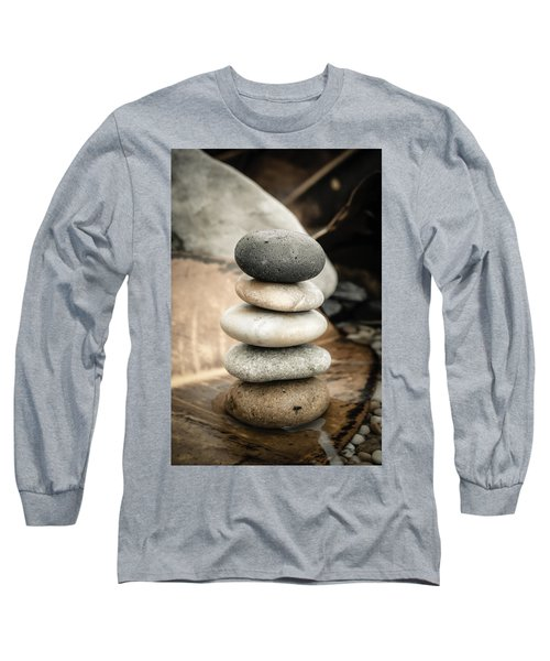 Zen Stones Iv Long Sleeve T-Shirt
