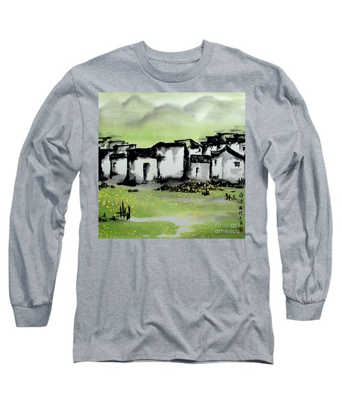 Zhongguo Cun - Chinese Village Long Sleeve T-Shirt