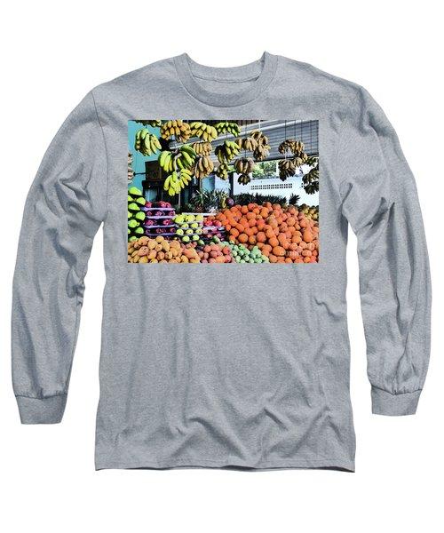 Zihuatanejo Market Long Sleeve T-Shirt