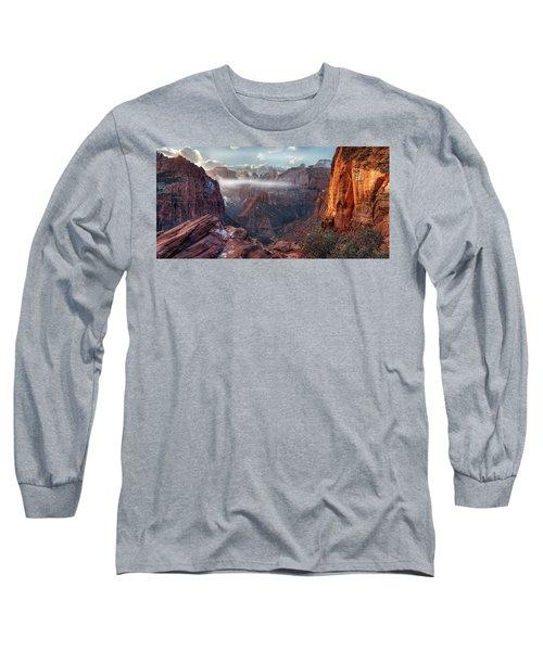 Zion Canyon Grandeur Long Sleeve T-Shirt