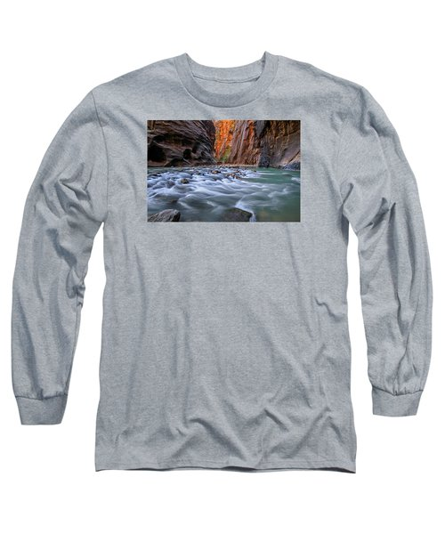 Zion Narrows Long Sleeve T-Shirt
